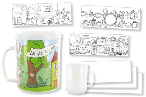 Mug A Decorer by Mug 224 D 233 Corer Transparent 10 Doigts