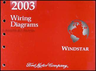free auto repair manuals 2003 ford windstar engine control 2003 ford windstar wiring diagram manual original