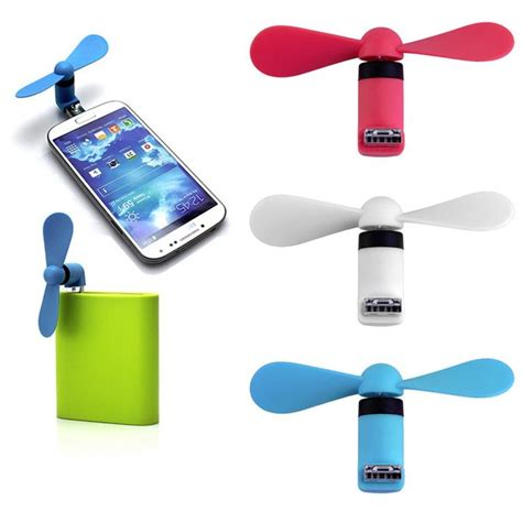 usb fan for phone phone micro usb fan cooler otg mini portable