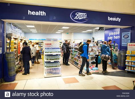 boots health and duty free shop terminal