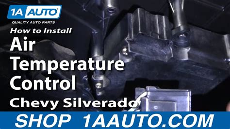install replace air temperature control silverado
