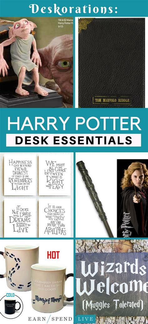 harry potter desk decor best 25 desk essentials ideas on office