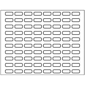8 tab label template free avery 174 template for index maker clear label dividers