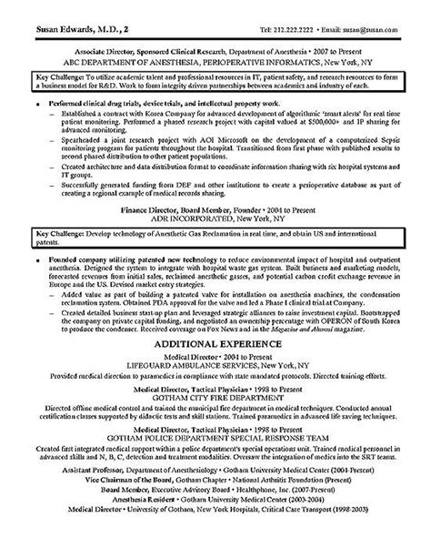 Clinical Trail Administrator Sle Resume by Clinical Research Resume Exle