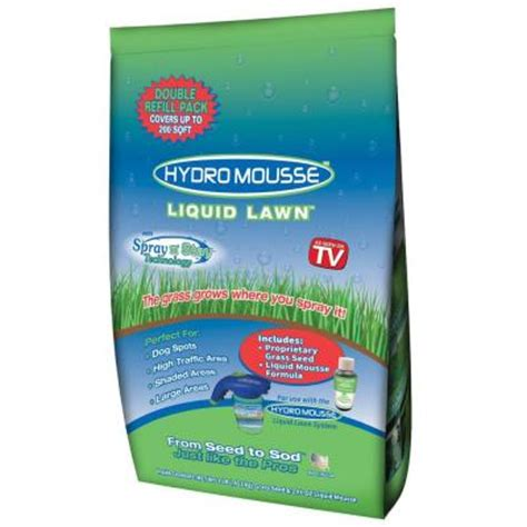hydromousse 2 oz liquid lawn with spray n stay technology