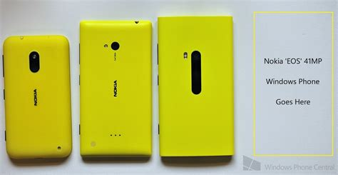 nokia phone with 41mp report nokia eos 41mp pureview windows phone in early