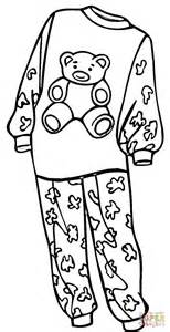 pajama template pajama day coloring sheets coloring pages
