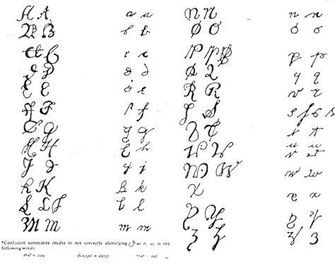 Letter Writing Sle Colonial Handwriting Sles