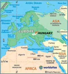 Hungary World Map by Hungary Map Geography Of Hungary Map Of Hungary