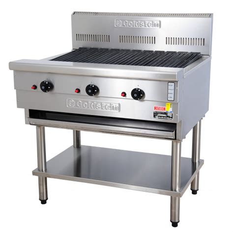 Stainless Steel Commercial Kitchen Cabinets by Goldstein Rba 36l Char Grill Broiler Commercial Kitchen