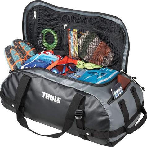 duffle bag or backpack thule chasm 40l 22 quot waterproof gray duffel bag with