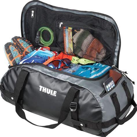 backpack duffel bag thule chasm 40l 22 quot waterproof gray duffel bag with