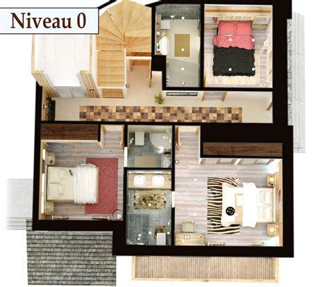 Aménager Un Studio étudiant by Plan D Un Studio Moderne Le Plan Appartement D 39 Un