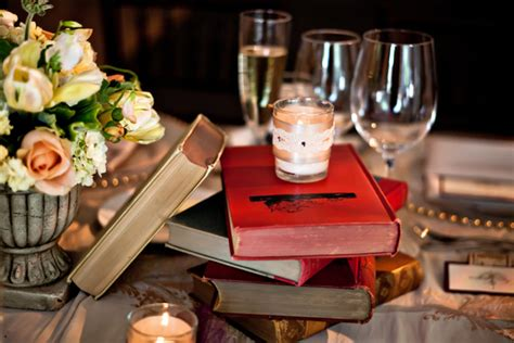 inspiration books in centerpieces ultrapom wedding