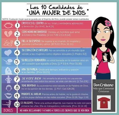 preguntas buenas para una mujer 10 cualidades de una mujer de dios quotes pinterest dios