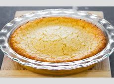 Impossible Coconut Pie DONE - very coconuty, separates ... Impossible Chocolate Coconut Pie Recipe