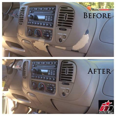 Upholstery Dashboard by Repair Dashboard Factory Finish Interior Magic Of Atlanta