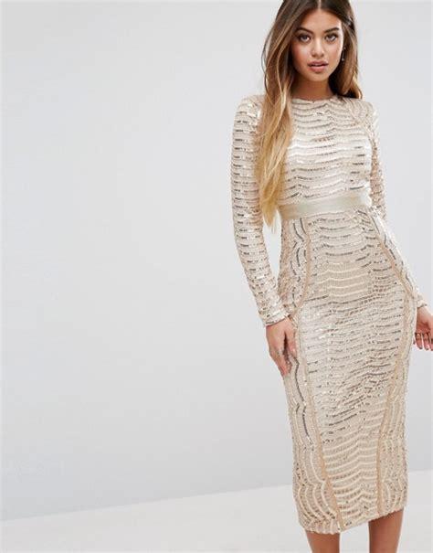 Dress Midi Kalung Premium prettylittlething prettylittlething premium sequin midi dress