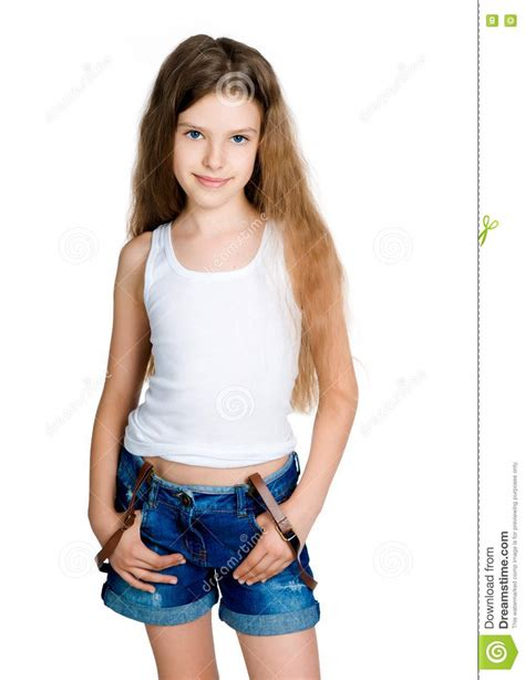 young pre teen models little girl royalty free stock photo image 20557765
