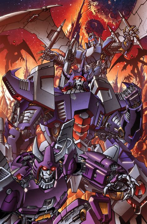 transformers painting comics forever galvatron the new decepticons artwork