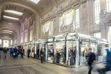 galleria delle carrozze stazione centrale giugiaro architettura