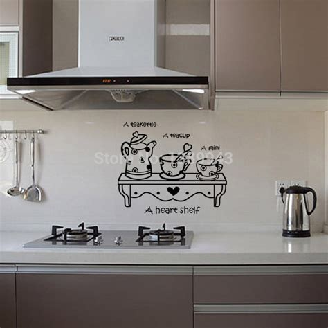 Decals For Kitchen Cabinets | latest kitchen sticker wall sticker home decor cabinet