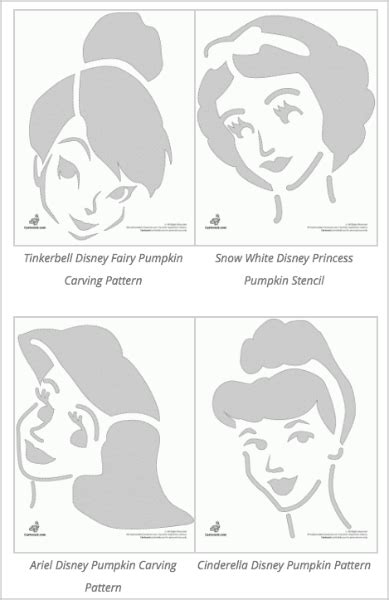 pumpkin carving princess templates disney pumpkin stencils 130 printable pumpkin patterns