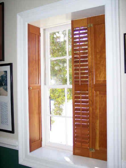 authentic raised panel shutters