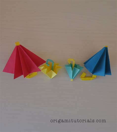 How To Make An Origami Umbrella - origami umbrella images craft decoration ideas