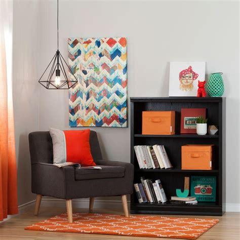 south shore morgan 4 shelf bookcase altra furniture ladder bundle 4 shelf bookcase in black
