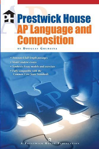 prestwick house prestwick house ap language and composition