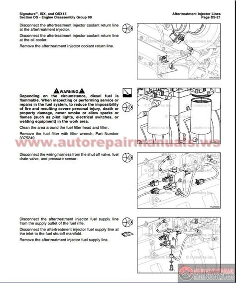cummins isx and qsx 15 volmume 1 service manual auto