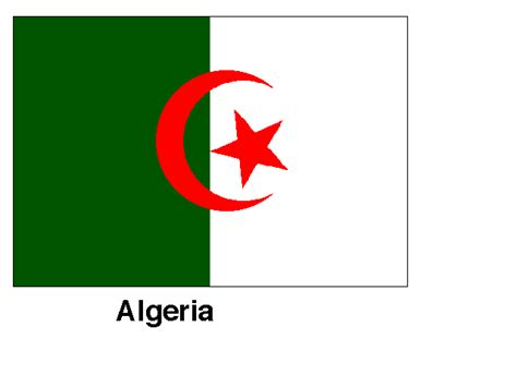 algeria country flag algeria flags images map pictures