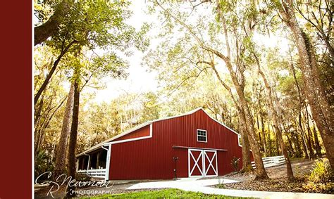 shabby chic barn at saxon manor brooksville fl rustic wedding guide