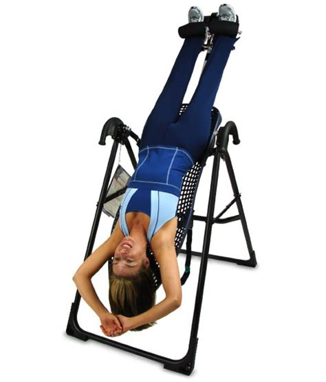 inversion therapy without table teeter hang ups ep 550 inversion table review