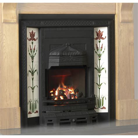 high efficiency gas fireplace inserts cast iron tiled insert high efficiency black gas