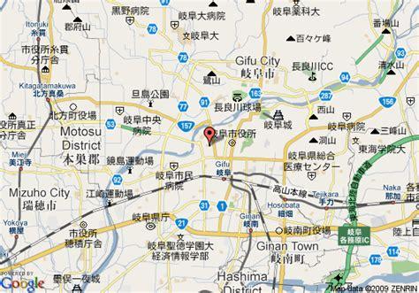 map of comfort hotel gifu gifu