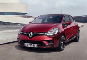 Renault Clio New Look 2017 Renault Clio Revealed Updated Tech