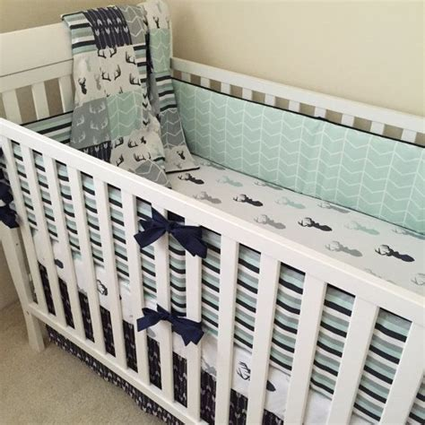 Boy Crib Bumpers by Best 25 Woodland Baby Bedding Ideas On Baby