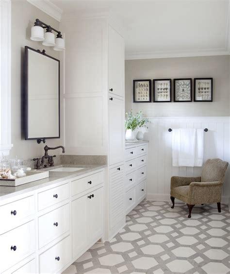 two tone bathroom cabinets two tone floor tiles design ideas