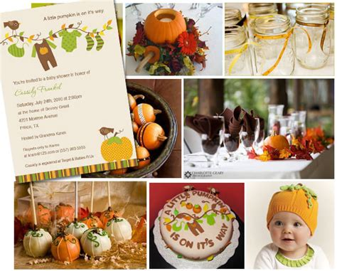 autumn themed baby shower ideas planning unique baby shower themes ideas baby shower ideas