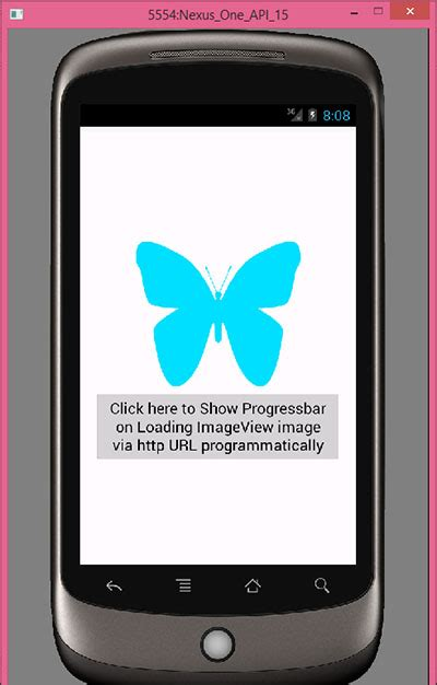 android use picasso to load image into programmatically show progressbar on loading imageview image via http url