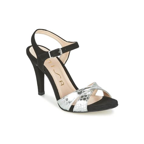 Wedges Moschino Blacksilver 36 40 7cm unisa warian black silver free delivery with spartoo