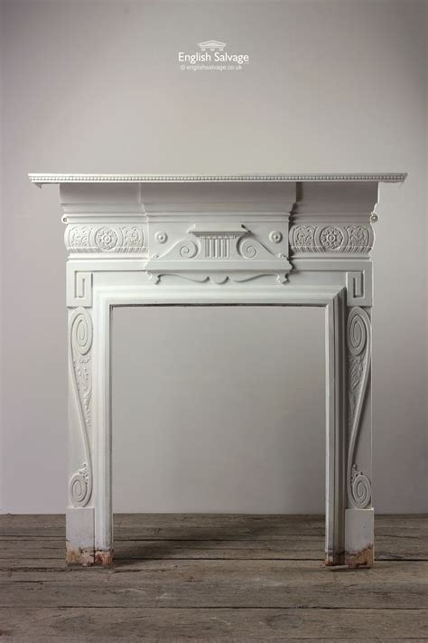 Painting Cast Iron Fireplace White by 17 Best Images About Surrounds On Mantels