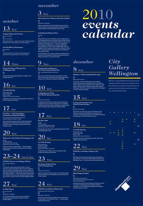 design calendar of events 25 best images about events calendar design ideas on