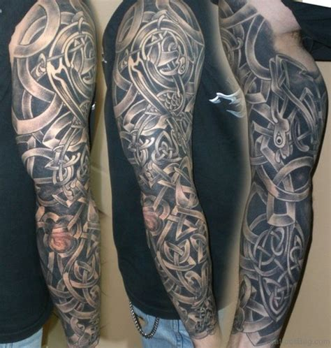 celtic sleeve tattoos for men 50 great celtic tattoos for sleeve
