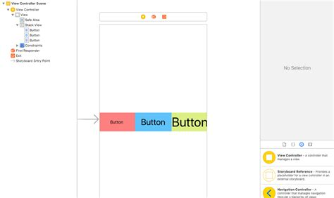 xcode linearlayout ios how to abstract away values from xcode storyboards