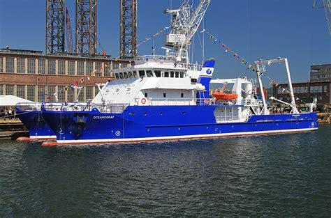 twin hull catamaran research vessel christened in gdynia - Catamaran Research Ship