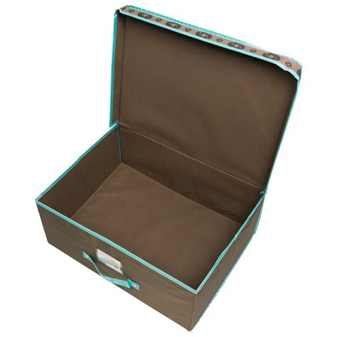 in collapsible storage box samsonite flip top collapsible storage box 19 5x14 5x8