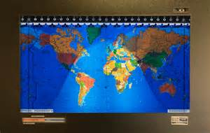 World Clock Map kilburg geochron world clock pursuitist